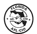 Florida AFL CIO Logo