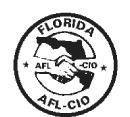 Florida AFL CIO Logo